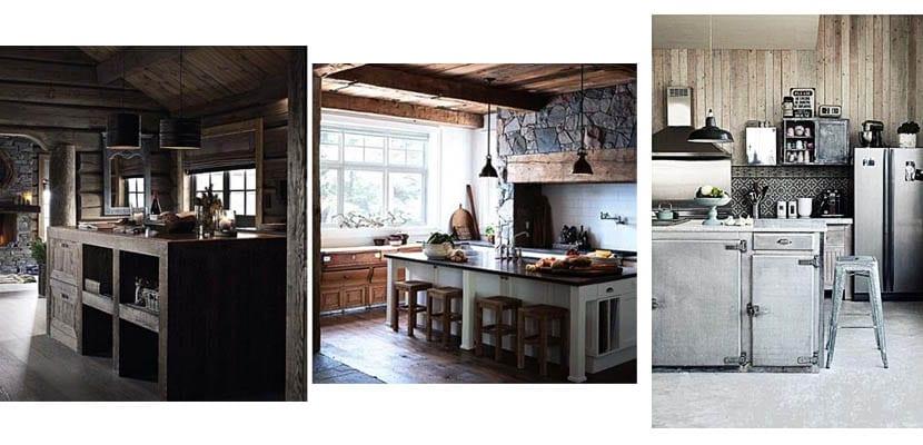 Cabañas de madera: Cocinas