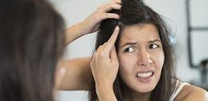 Caspa en el cabello
