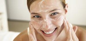 Exfoliación del rostro