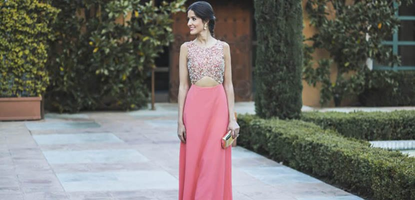 Vestidos largos para boda en la noche