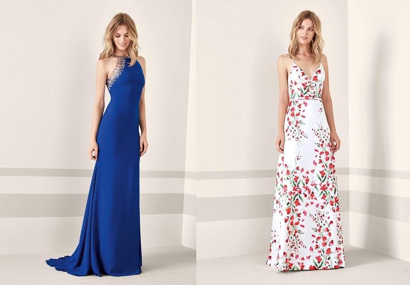 Vestidos de noche para una boda 2019