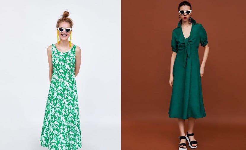 Vestidos de verano en Zara