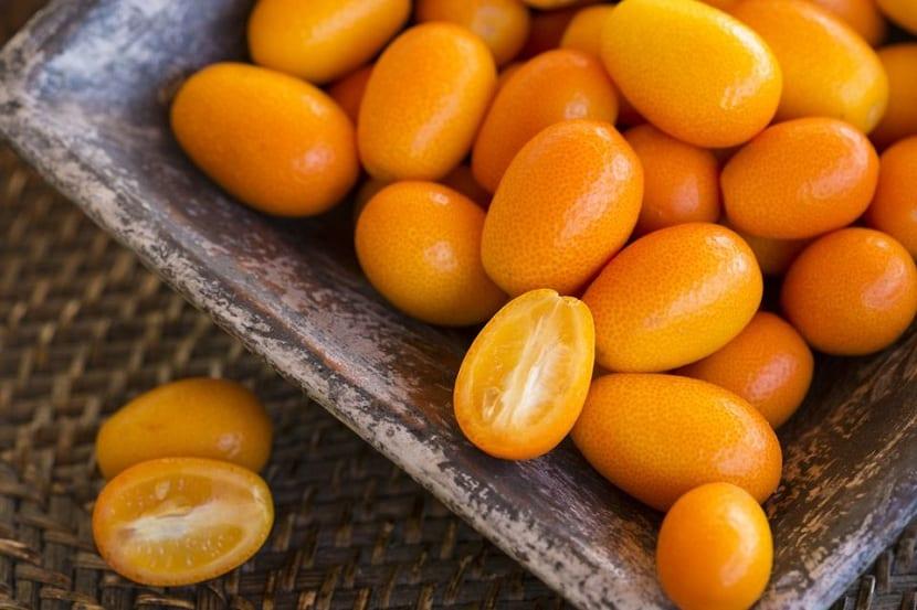 Interior del kumquat