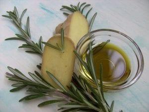 Aceite de romero casero