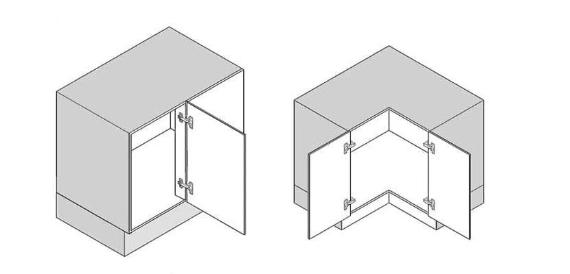 Soluciones de almacenaje para armarios de rincón