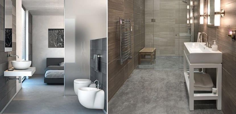 Cemento pulido en baños