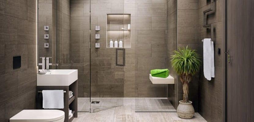 Ba os modernos inspiraciones e ideas para el hogar for Banos blancos y grises modernos