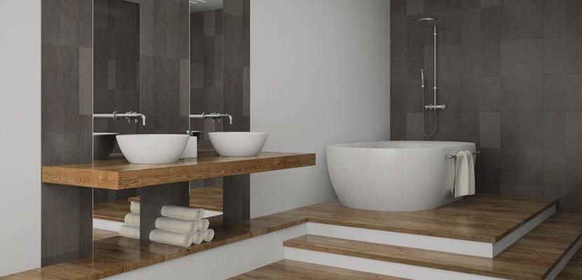 Ba os modernos inspiraciones e ideas para el hogar for Imagenes de banos pequenos sencillos