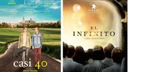Estrenos de cine: Casi 40, El infinito