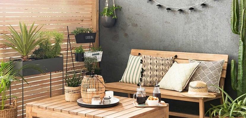 Decoraci n de terraza con encanto para este verano for Terrazas 2018 decoracion