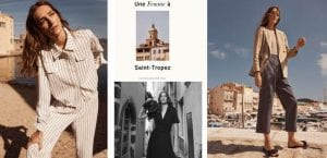 Editorial Massimo Dutti: Une femme à Saint-Tropez