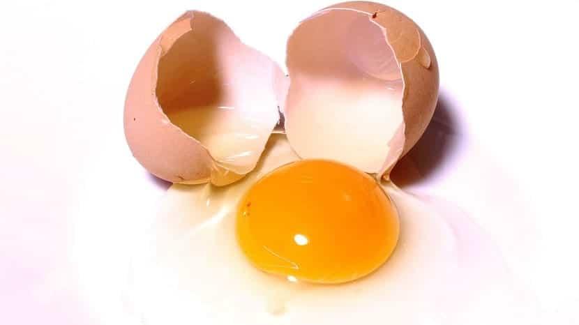 Huevo para la caspa
