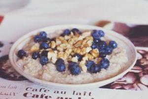 leche de avena para desayunos