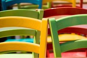 Colores para muebles de madera