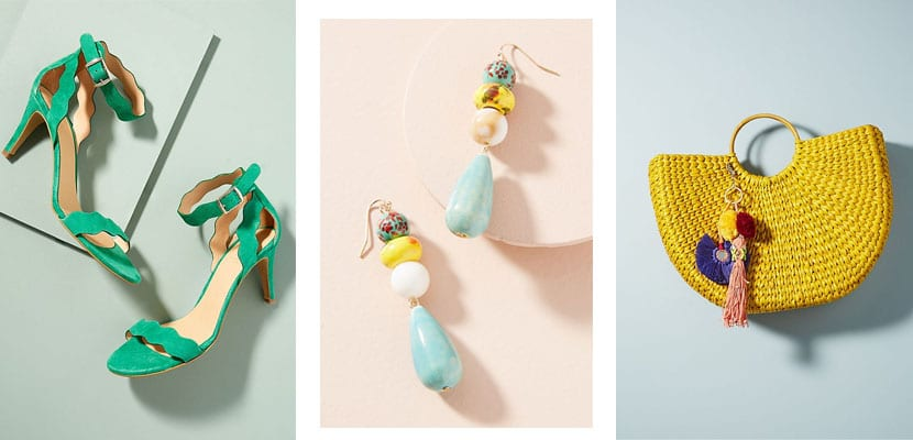 Accesorios Anthropologie: Summer Brights