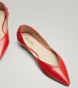 Zapatos en rebajas de Massimo Dutti