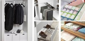 Accesorios para organizar armario