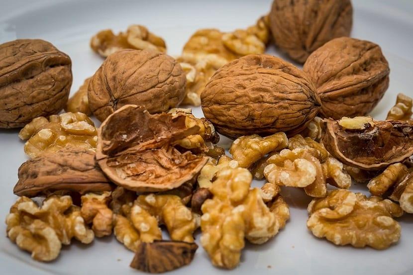 Alimentos ricos en grasas las nueces