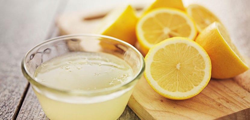 Bicarbonato de sodio y limón para los dientes