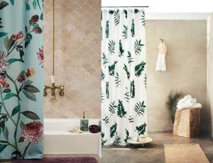 Cortinas de ducha estampadas H&M