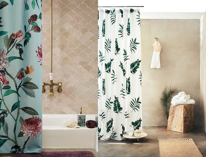 Cortinas de ducha imprescibles para un ba o con mucho estilo - Cortinas para ducha ...