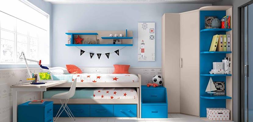 Muebles modernos para niños