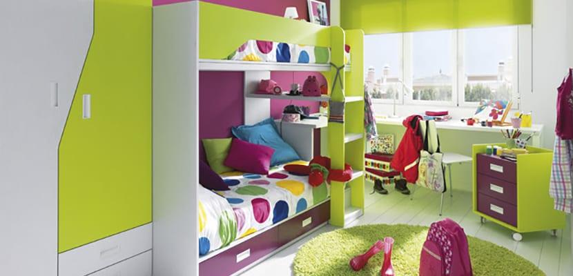 Ideas Decorativas Y Funcionales Para Las Habitaciones Infantiles - Imagenes-habitaciones-infantiles