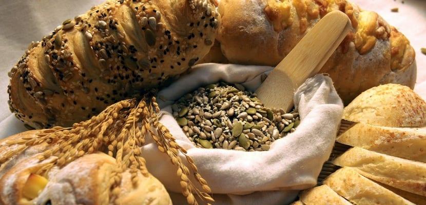selección de pan