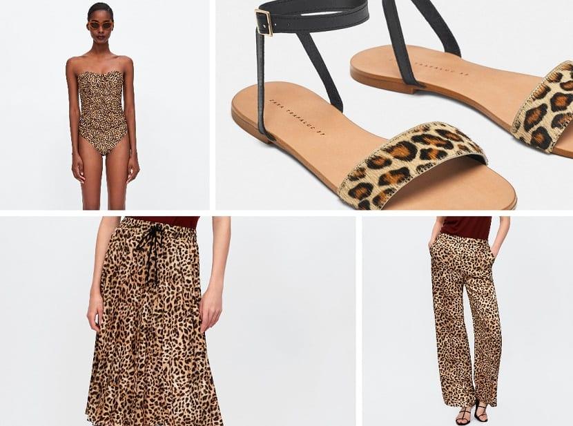 Prendas de leopardo en Zara