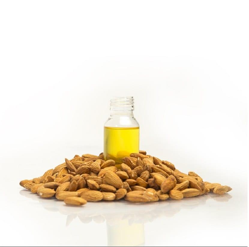Mascarillas con aceite de almendras