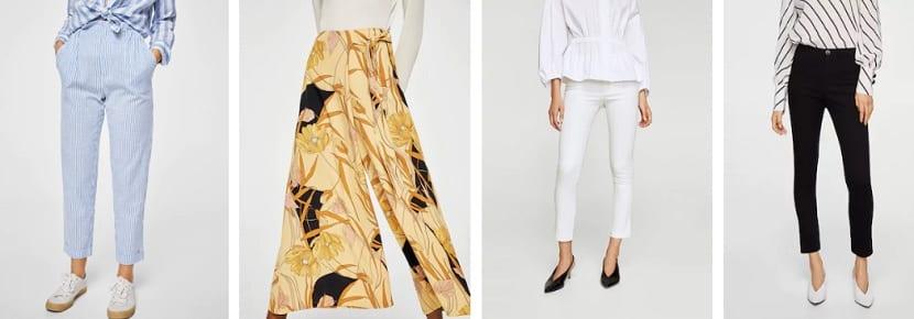 Pantalones de rebajas en Mango
