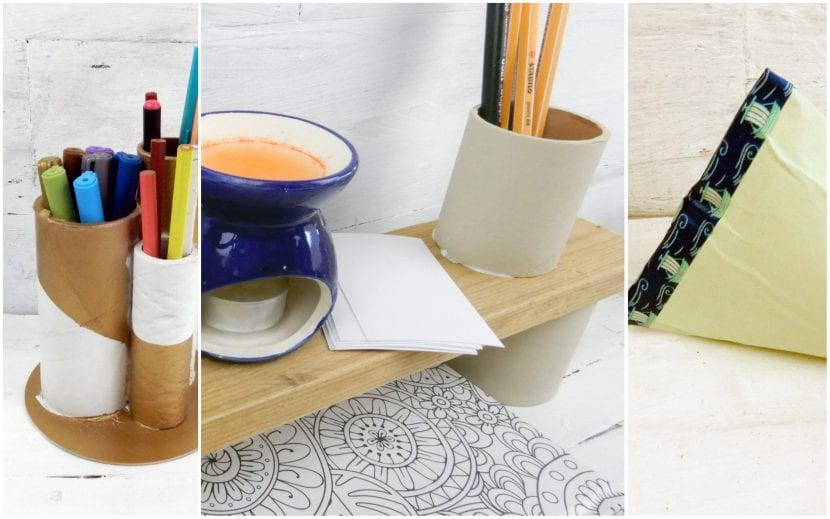 3 ideas para reutilizar tubos de cartón - Reciclaje creativo