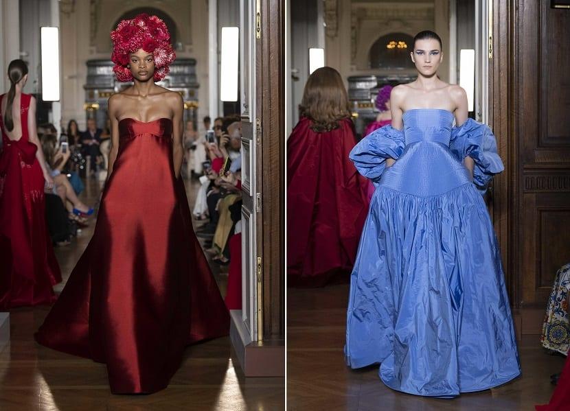Vestidos de invierno Valentino en color