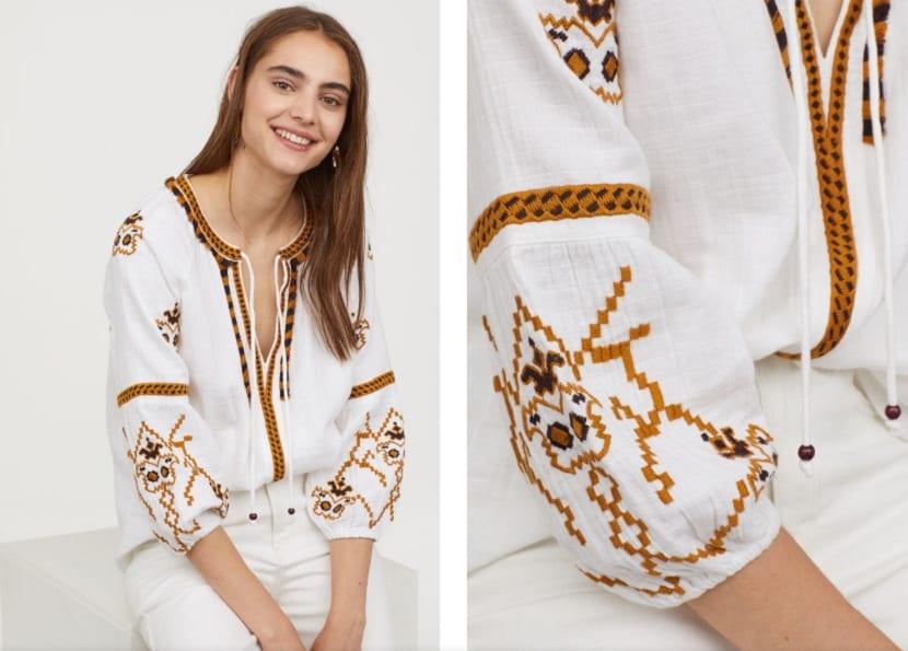 Blusas étnicas H&M