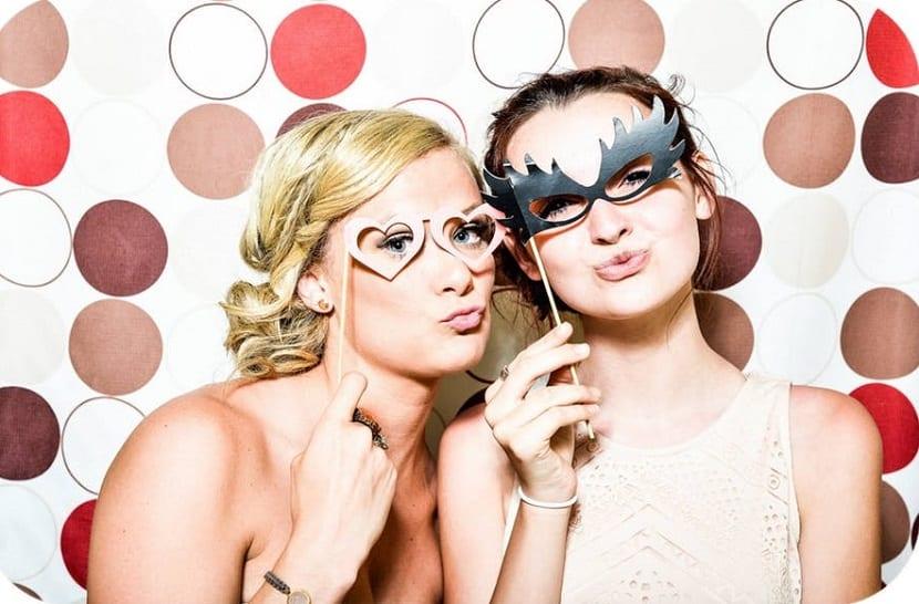 Cabina de fotos para bodas