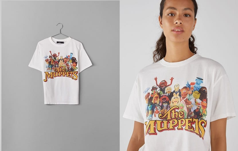 Camiseta chica The Muppets
