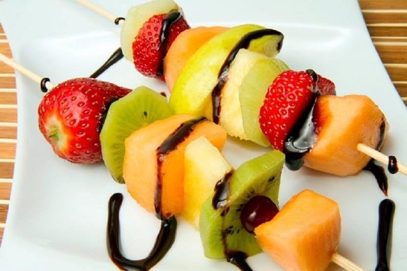 Consumir mucha fruta