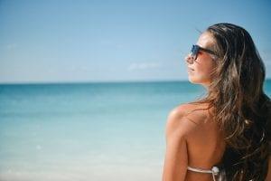 Cuidados del cabello en la playa