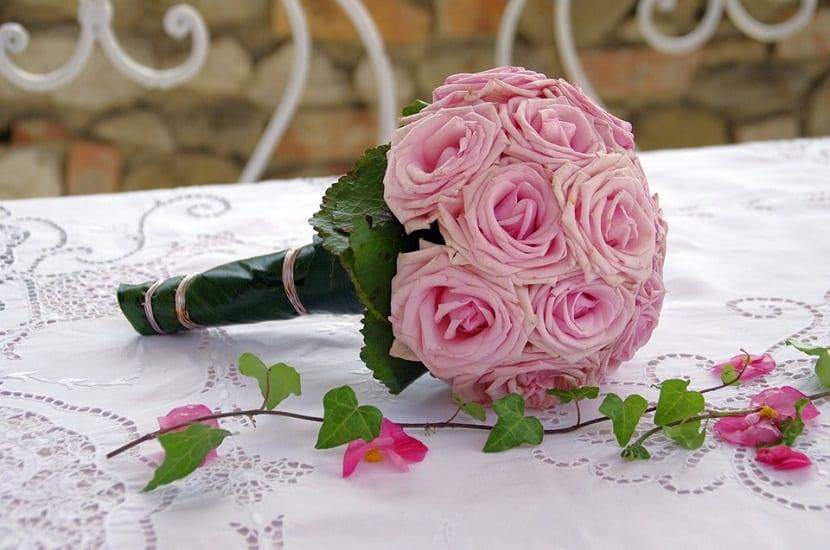 Flores para el ramo de novia