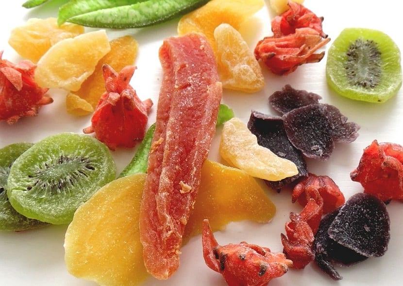 Frutas desecadas