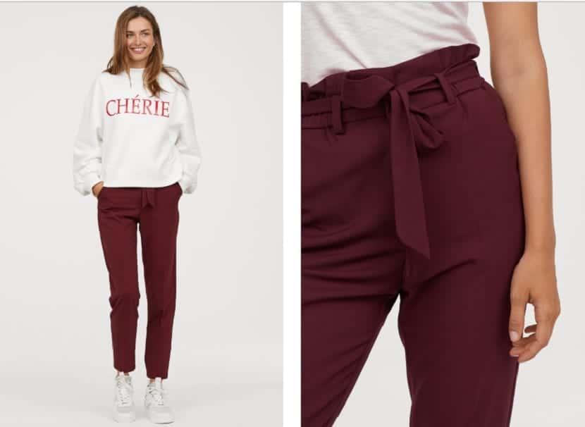 Pantalones en H&M