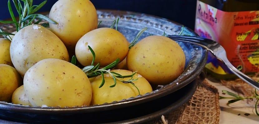 patata con romero