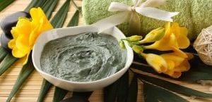 Arcilla verde para la celulitis