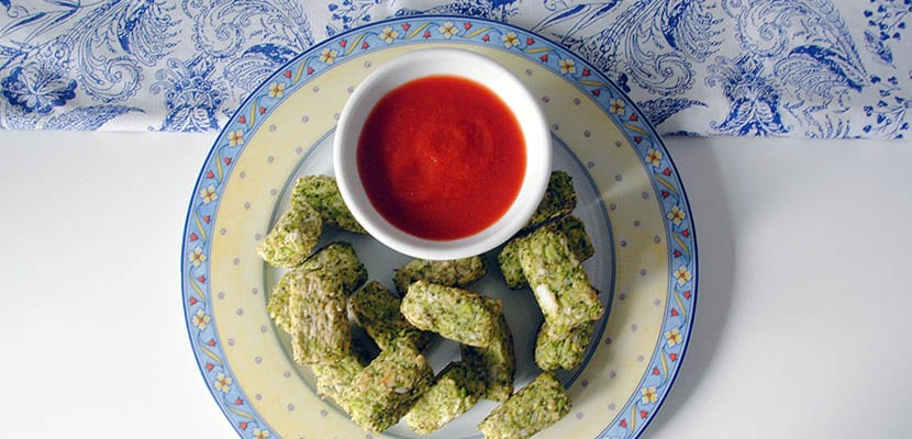 Bocaditos de brócoli al horno