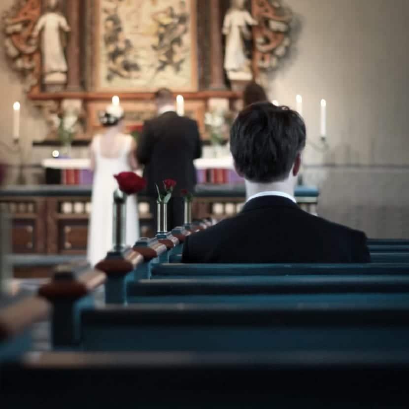 Celebrar bodas por la iglesia