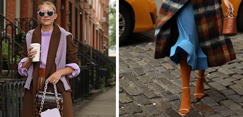 Combinaciones de color para el otoño