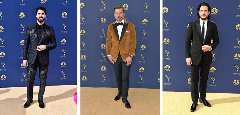 Looks masculinos Emmy