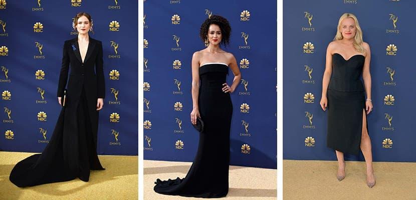 Looks minimal de los Emmy