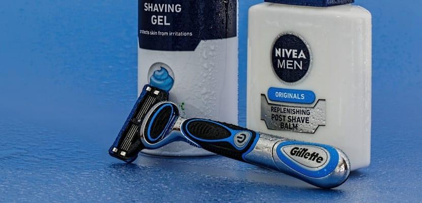 loción afeitado