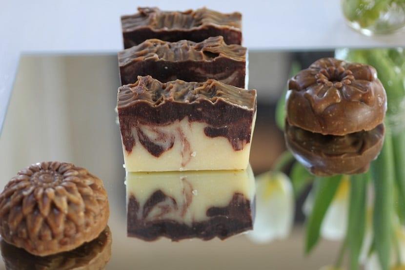 Receta jabón casero de chocolate